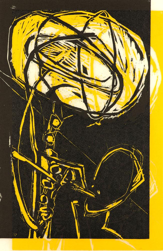 Der Saxophonist 1