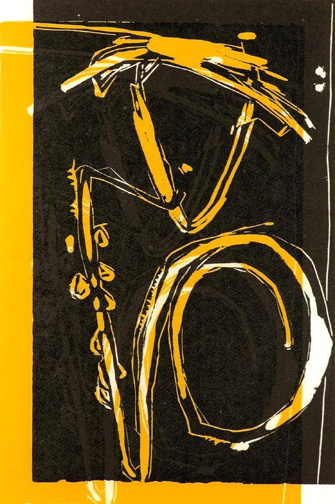 Der Saxophonist 4