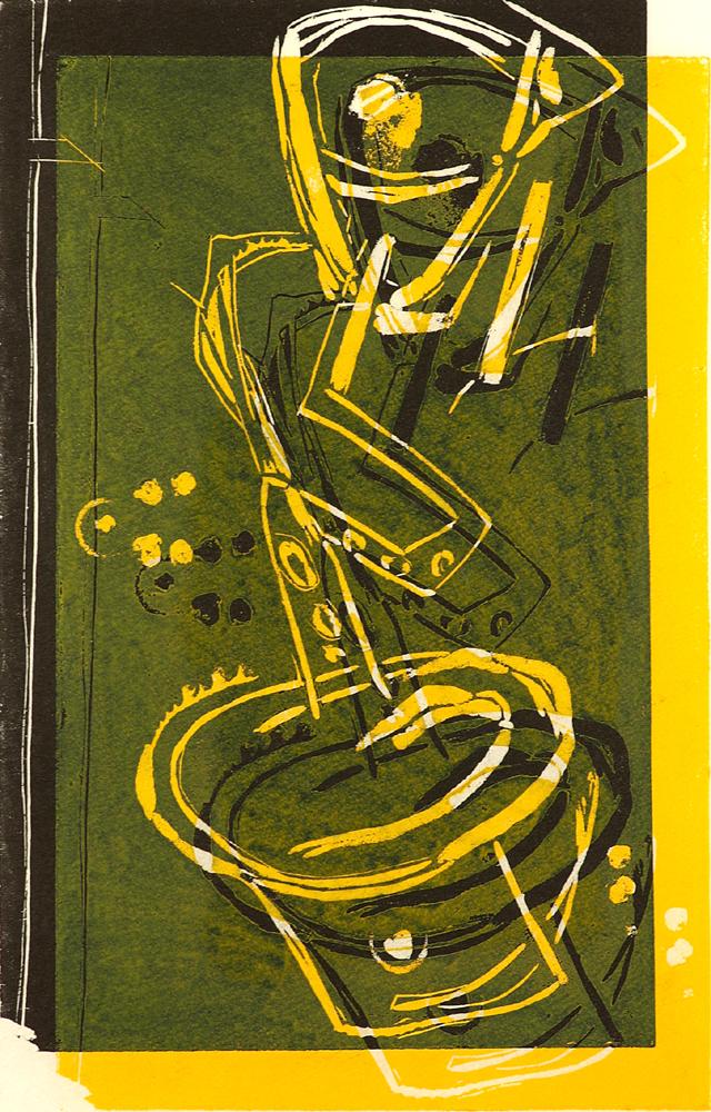 Der Saxophonist 6